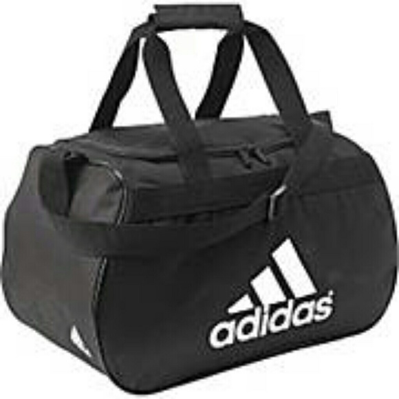 e4752652d5cc AUTHENTIC ADIDAS SMALL GYM BAG GRAY BLK